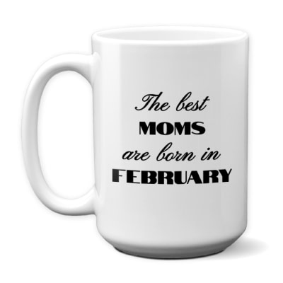 Best Moms Personalized Birthday Mug