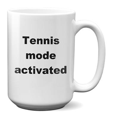 Tennis Coffee Mug – Tennis Mode Activated