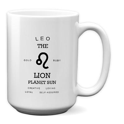 LEO_All About Your Zodiac 15 oz Mug
