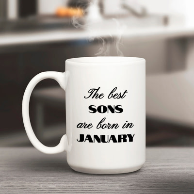Customized Mug – The Best Are Born In