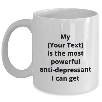 Personalize It Pet Ceramic Mug – Most Powerful Anti-depressant