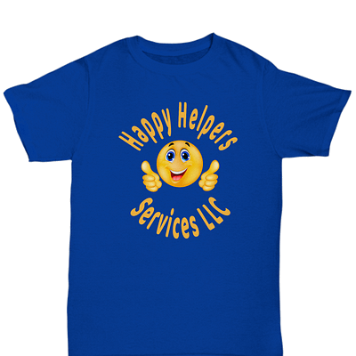 Happy Helpers Unisex Tshirt Front