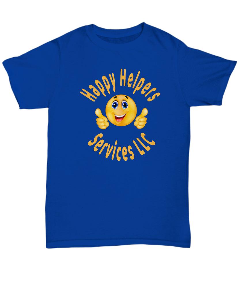 Happy Helpers Unisex Tshirt Front